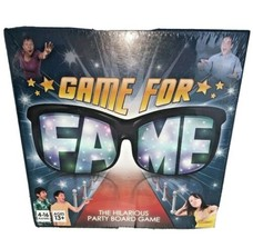 NIB GAME FOR FAME The Hilarious Party Board Game FACTORY SEALED - $13.81