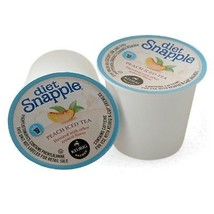 Snapple Diet Peach Iced Tea, 44 Count K Cups, Free Shipping - $37.39