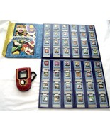 MegaMan NT Warrior Advanced PET Red and Battle Chip Lot Of 48 In Collect... - $225.99