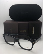 New TOM FORD Eyeglasses TF 5468 002 55-18 145 Black Matte-Black & Gold F... - $329.95