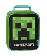 Minecraft Creeper Face Thermos Upright Lunch Box Multi-Color - $19.98