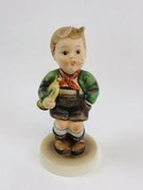 """Vintage 4 3/4"""" Hummel -  Trumpet Boy Goebel West Germany Figurine - $17.82"""