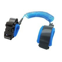 Anti Lost Wrist Link with Lock for Toddlers, Babies and Kids, Blue 2M - $10.27