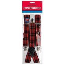 Nerd Geek Chic Plaid Suspenders - $7.12