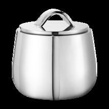 Helix by Georg Jensen Mirror Polished Stainless Steel Bonbonniere Sugar ... - $58.41