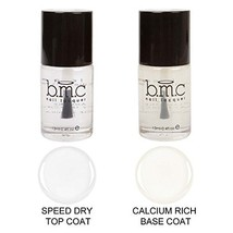 Maniology (formerly bmc) Super Fast Speed Dry Top Coat and Calcium Rich ... - $13.89