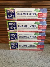 Kiss My Face Enamel Xtra Anticavity Fluoride Toothpaste 4 Tubes 4.5 Oz. ... - $34.64