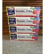 Kiss My Face Enamel Xtra Anticavity Fluoride Toothpaste 4 Tubes 4.5 Oz. ... - $34.64