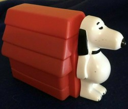 A 1969 Peanuts Character Avon Snoopy & Doghouse Shampoo bottle - empty - $3.95