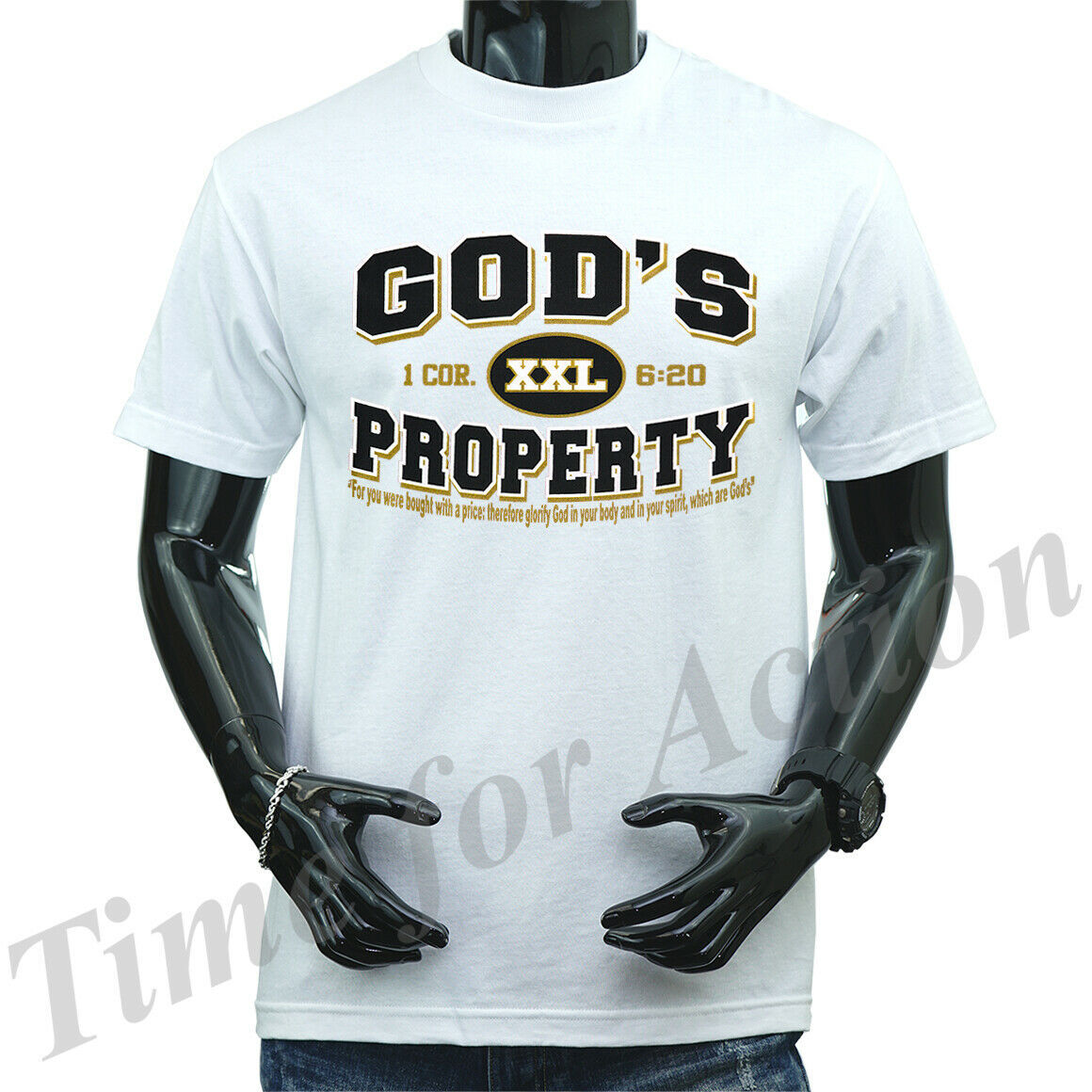 Primary image for God's Property Christian Religious Jesus Christian Graphic T-shirts