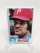 1982 Topps Baseball #337 Pete Rose Career Highlights - $3.71
