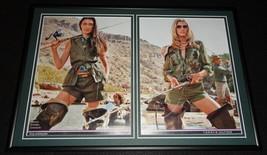 2015 Tommy Hilfiger Fishing Girls Framed 12x18 ORIGINAL Advertising Display - $65.09