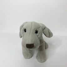 "Ganz Webkinz Weimaraner Plush Gray Puppy Dog Stuffed Animal 9"" No Code  - $18.80"