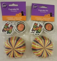 "Wilton Cupcake Kit 48 ct 2"" Baking Cups Standard Cupcake Liners and 48 3... - $9.00"