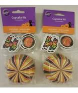 "Wilton Cupcake Kit 48 ct 2"" Baking Cups Standard Cupcake Liners and 48 3... - $9.00"