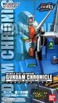Cardass Masters Gundam Chronicle ~ 0083 STARDUST MEMORY Hen ~ BOX - $54.80
