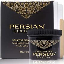 Parissa Persian Cold Wax Hair Remover Kit, Large, 8 Oz image 3