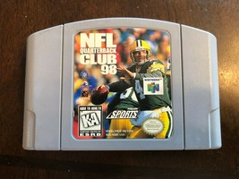 N64 NFL Quarterback Club 98 game - Cleaned, Tested, & 100% Working - $3.61