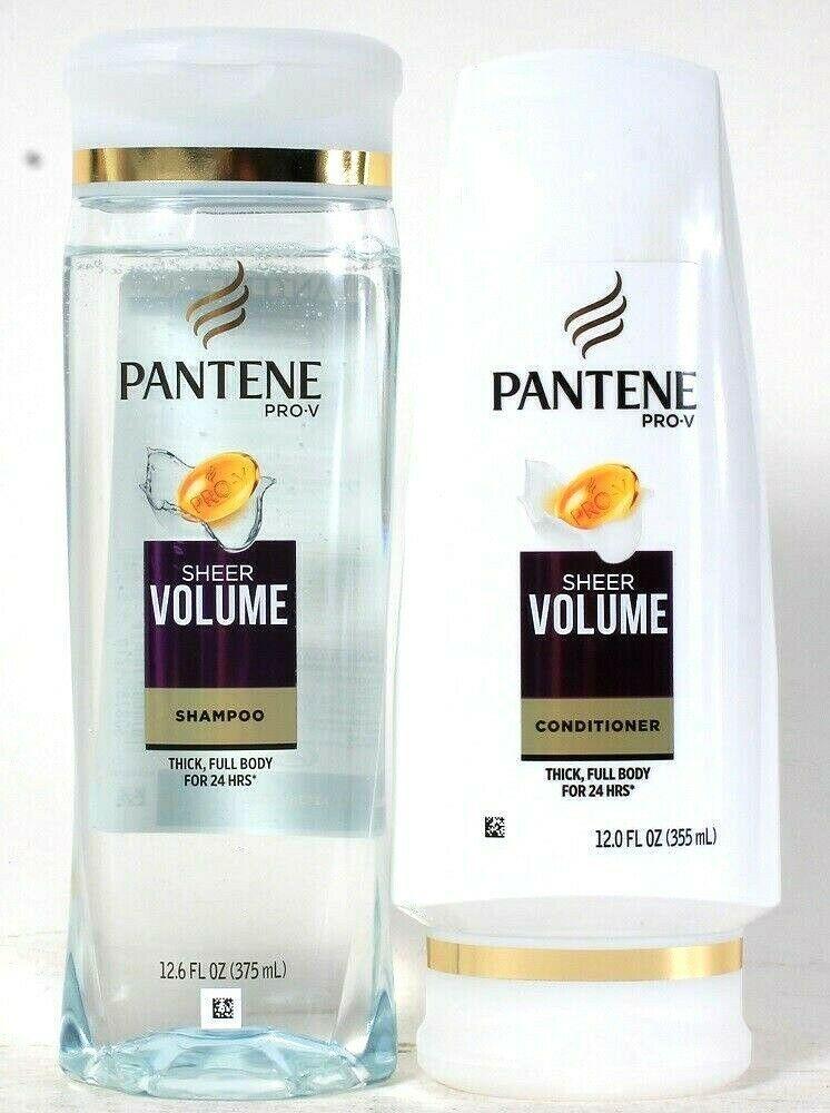 Pantene Pro V Sheer Volume Thick Full Body For 24 Hour Shampoo & Conditioner Set - $24.99