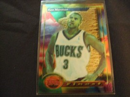 1993-94 Topps Finest  #6 Ken Norman -Milwaukee Bucks- - $3.12