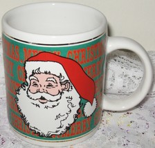 Merry Christmas Santa Claus Coffee Cup - $5.00