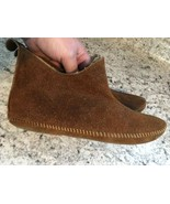 SLIPPER BOOTS BOOTIES Natural Leather Sheep's Wool Mens Wos Unisex SIZE ... - $37.79