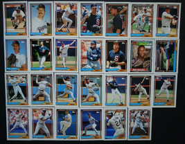 1992 Topps San Diego Padres Team Set of 27 Baseball Cards - $2.99