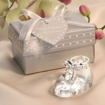 15 Crystal Baby Shoe Baby Bootie Baby Shower Favors - $40.10