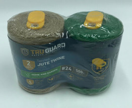 2 pack of MIBRO Green & Natral Twisted Jute Twine 4LBs Home & Garden 500... - $9.99