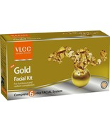 Brand New VLCC Gold Facial Kit - 60 gm - Complete 6 Step Facial System - $5.19