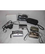 Neat Lot Vintage Camera Yunon DS Max Kodak Instamatic - $44.32
