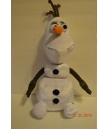 "Disney Frozen OLAF Pull Apart Talking Stuffed Plush 17"" Snowman - EUC - $7.19"