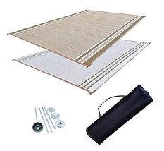 Professional EZ Travel Collection RV Patio Mat Awning Mat Outdoor Leisur... - $77.69