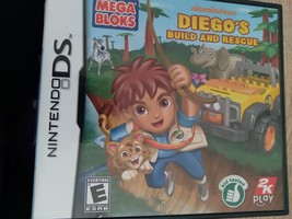 Nintendo DS Diego's Build And Rescue image 1
