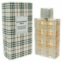 Burberry Brit Eau De Toilette 3.3 oz / 100 ml For Women Opened box - $28.97