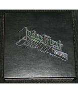 JUDAS PRIEST BoX SeT METALOLOGY 4 DISCS & Spiked Box & Insert Great Cond... - $60.78
