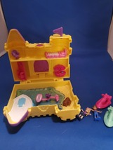 Polly Pocket Surf 'n' Sandventure Compact Mini Playset w/Micro Polly & J... - $25.00