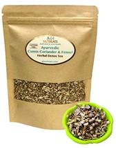 Ayurvedic Detox Cumin, Coriander and Fennel Tea - Organic Detox Tea - Supports w