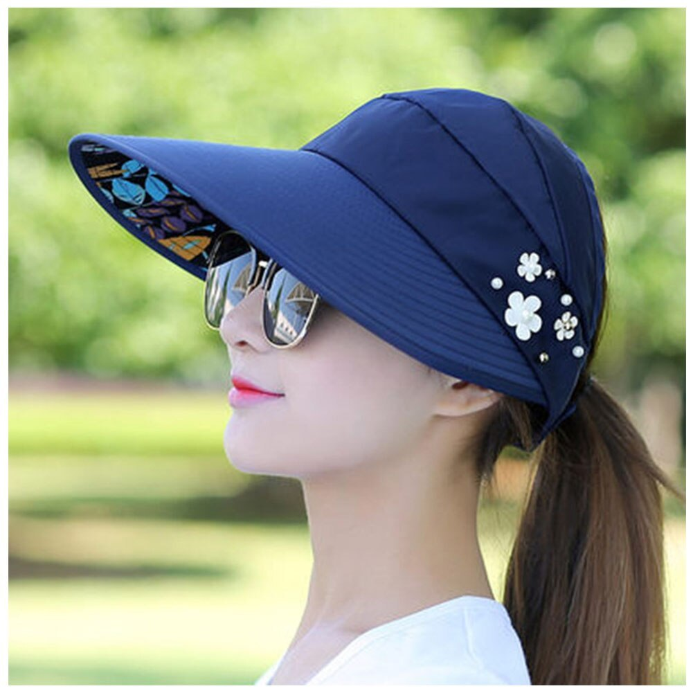 Summer Style Women Foldable Wide Large Brim Floppy Beach Gorro Hats Chapeu Outdo image 4