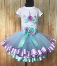 Unicorn Tutu, Unicorn Dress, Girls Unicorn Tutu, Unicorn Party Dress - $60.00+