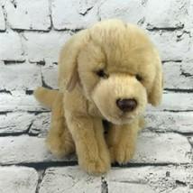 Yellow Labrador Puppy Dog Plush Golden Floppy Stuffed Animal Soft Toy - $14.84