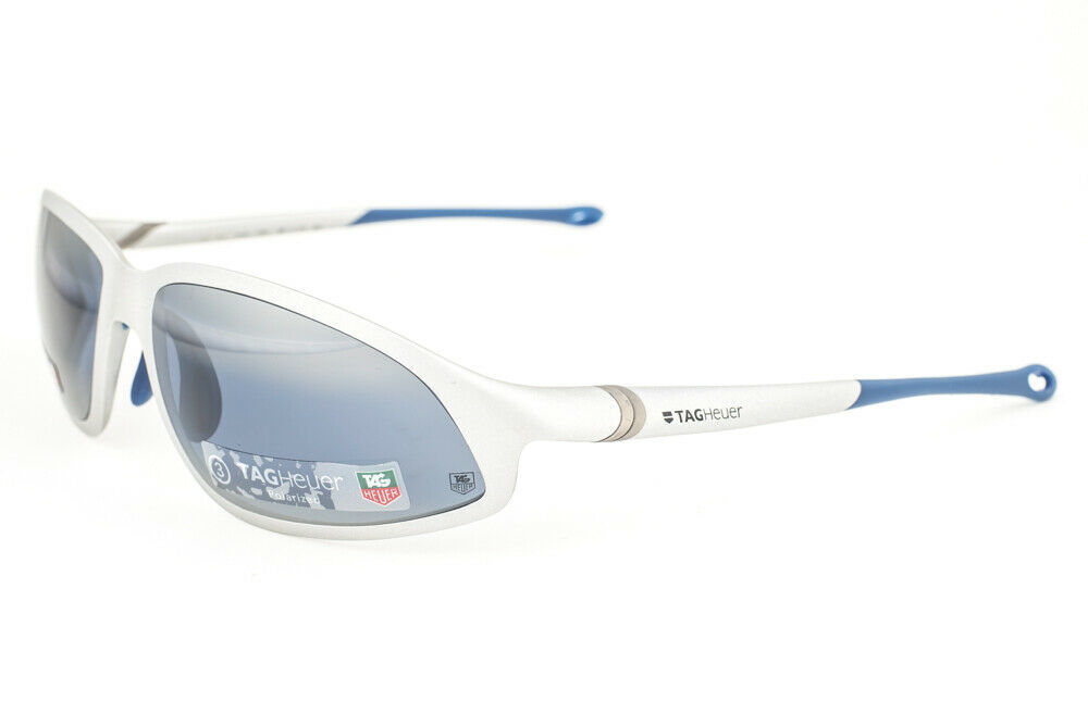 Primary image for Tag Heuer 1005 403 ORACLE Matte Silver / Watersport Blue Polarized Sunglasses