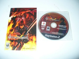 Drakengard RARE! Disc & Manual Only! (Sony PlayStation 2, ps2, 2003, 2004)  - $74.13