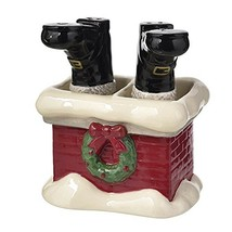 Grasslands Road December to Remember Santa Boots Salt and Pepper Shaker ... - $24.00