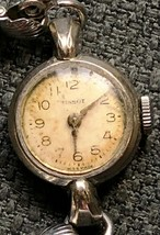 Vintage Tissot 17 Jewels Swiss Made Women's Watch - 10K Gold Filled Bezel - $18.93