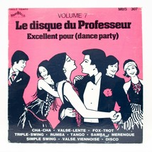 Le Disque Du Professeur Dance Vol 7 LP Vinyl Album Record Mani Belle MBS... - $7.43