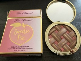 Too Faced Sweetie Pie Radiant Matte Bronzer NEW IN BOX - $29.99