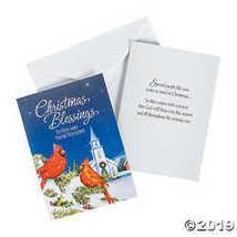 Christmas Blessings Christmas Cards - $16.61
