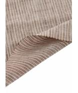 55'' Wide Home Linen Fabrics Striped Flax Fabric Coffee (17.5 55 Inches) - $22.31