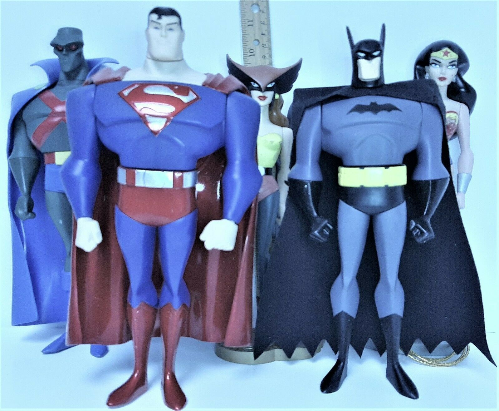 Primary image for DC Comics Justice League - Animated Series  by Mattel ~ Lot of 5 ~ approx. 10""